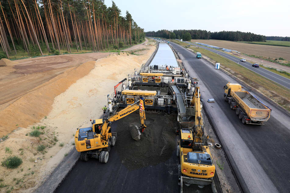 Die A14-Nordverlängerung nimmt immer mehr Gestalt an. Jetzt wird ein weiterer Abschnitt gebaut. (Archivbild)