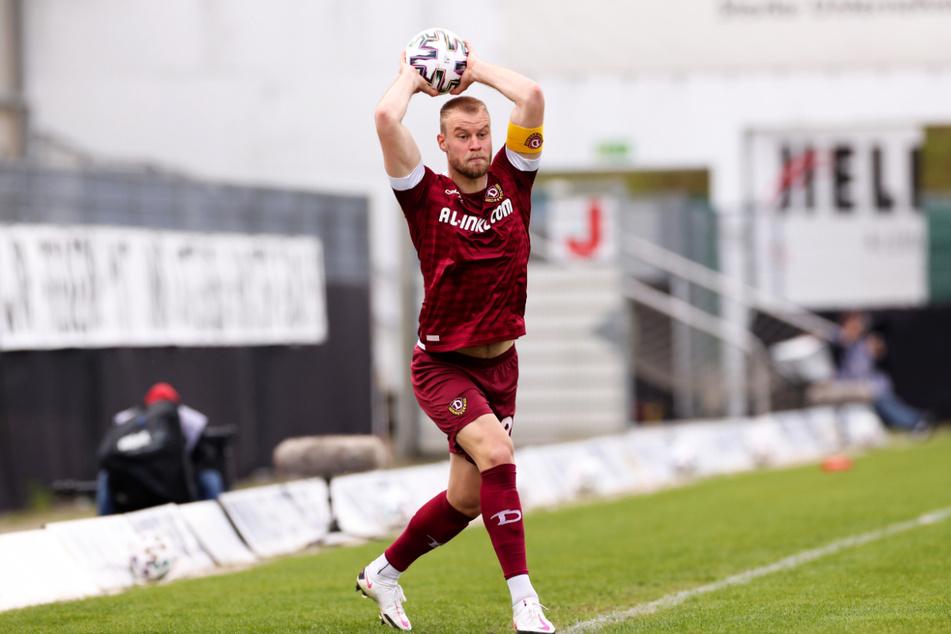 Sebastian Mai (27) kann Dynamo auf unbestimmte Zeit auf dem Platz nicht mehr weiterhelfen.