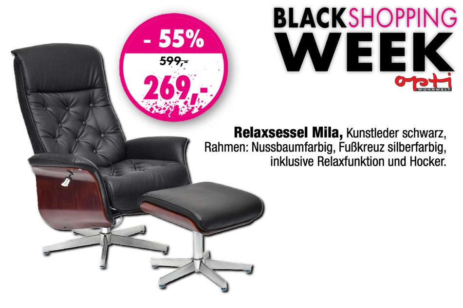 Den Relaxsessel gibt's für nur 269 Euro statt 599 Euro.