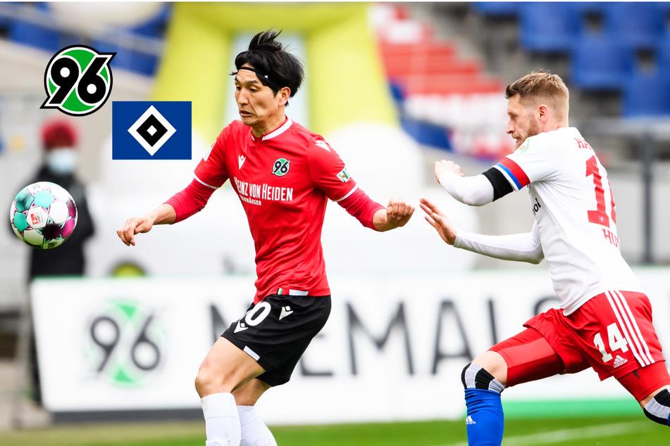 Nordderby-Wahnsinn! HSV schenkt 3:0-Führung bei Hannover 96 her