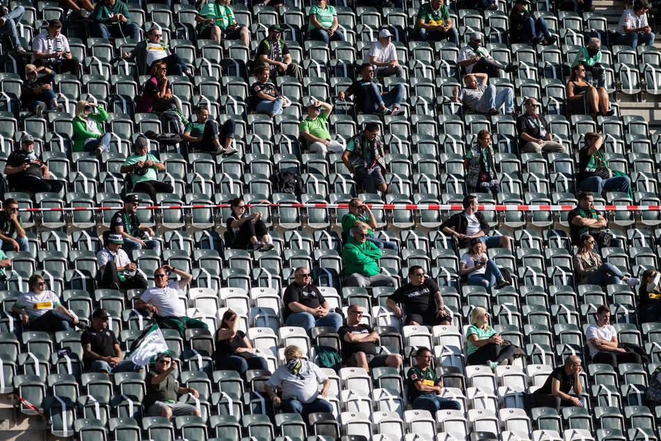 Das Heimspiel von Borussia Mönchengladbach gegen Union Berlin soll vor 10.804 Zuschauern stattfinden.