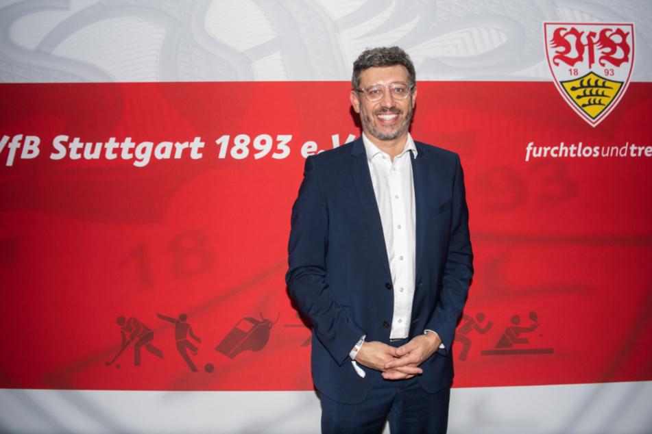 Präsident des VfB Stuttgart Claus Vogt (50).