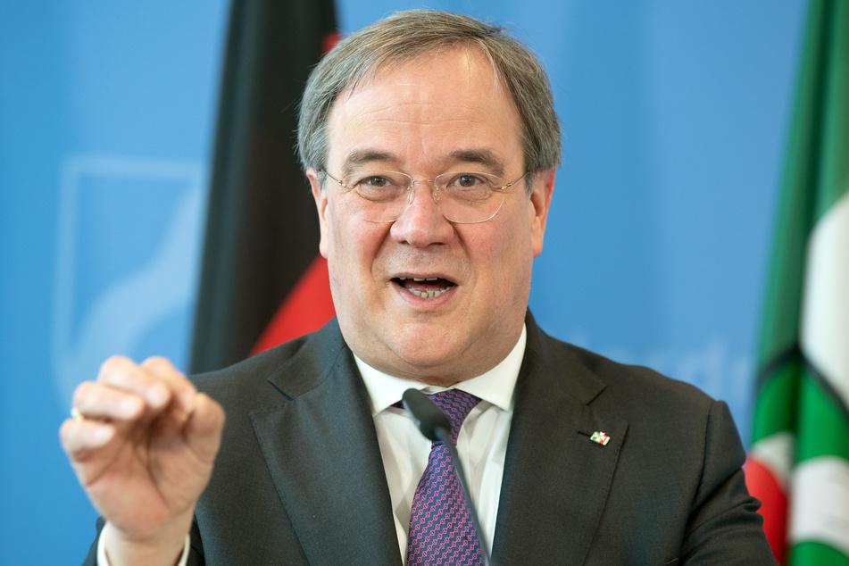 NRW-Ministerpräsident Armin Laschet (59) appelliert in der Coronakrise an den Gemeinsinn der Menschen.