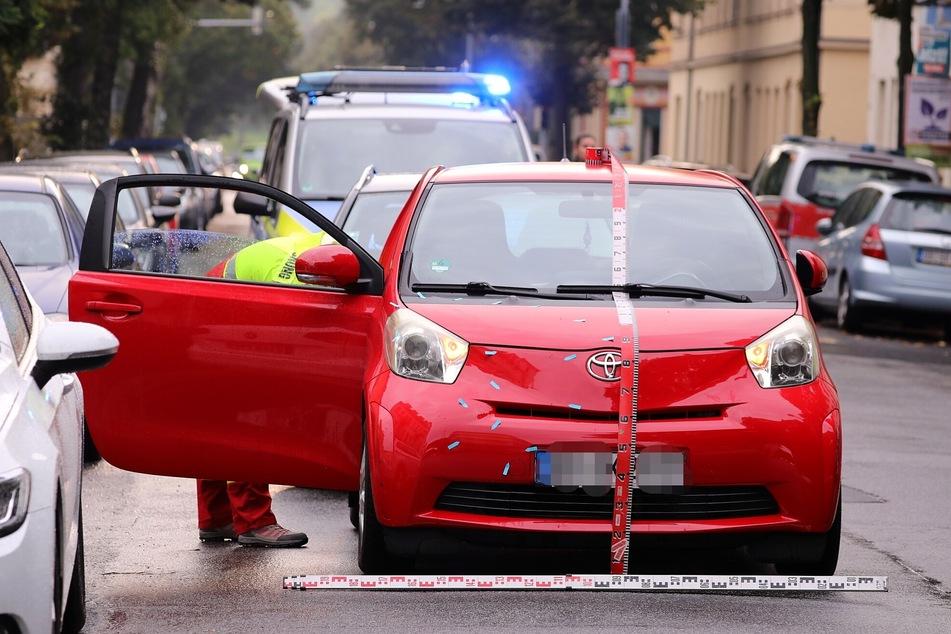 Ersten Informationen zufolge sei das Kind von einem Toyota angefahren worden sein.
