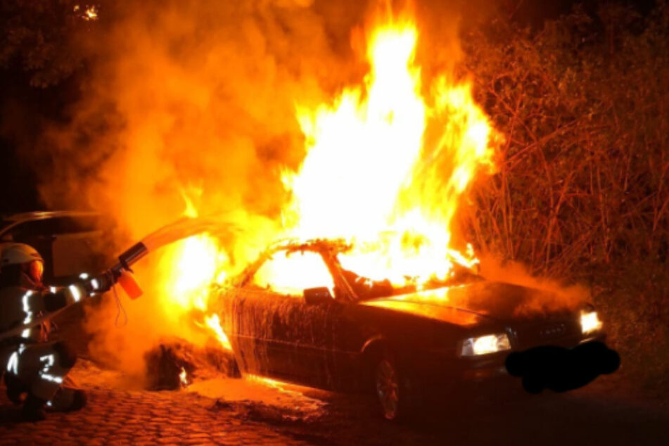 In Naumburg (Burgenlandkreis) soll in der Nacht zu Montag das Auto eines Linken-Mitglieds ausgebrannt sein. Es wird Brandstiftung vermutet.