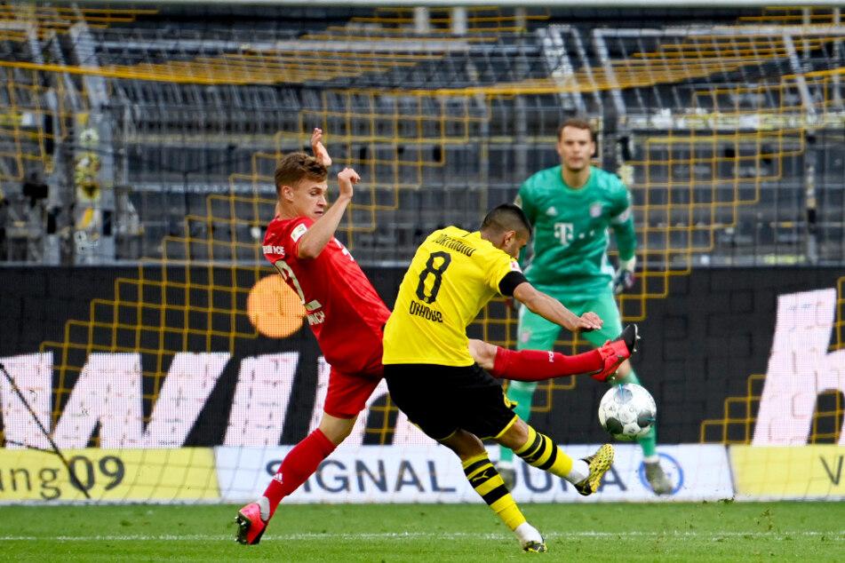 Mahmoud Dahoud versuchte es mehrfach aus der Distanz, konnte Manuel Neuer aber nicht überwinden.