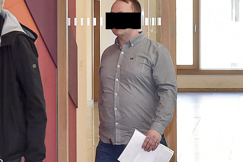 Raubopfer Frank G. (36) musste gestern selbst vor Gericht.