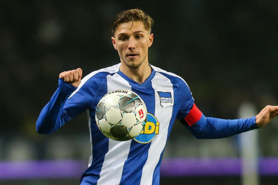 Niklas Stark erwischte gegen Eintracht Braunschweig keinen glücklichen Tag.