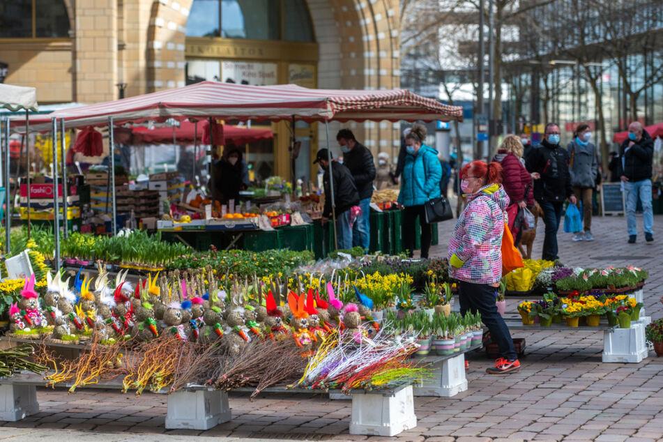 Chemnitz: Einkaufs-Run am Karsamstag? Chemnitzer City gut besucht