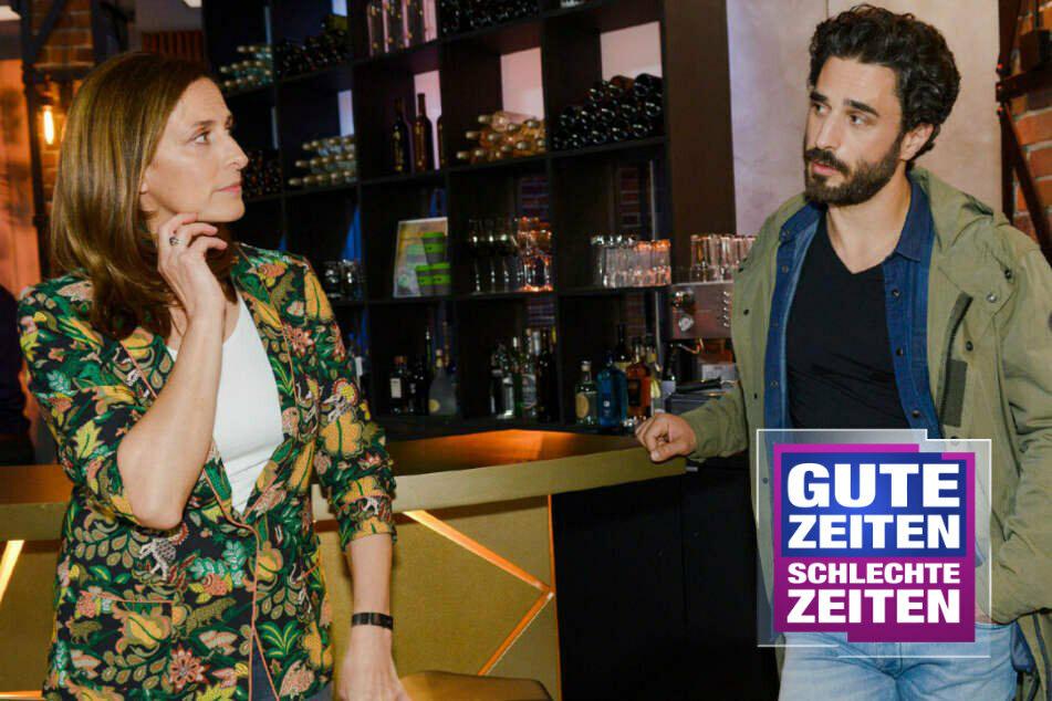 Berlin: GZSZ: Tobias zieht blank! Wie wird Katrin reagieren?