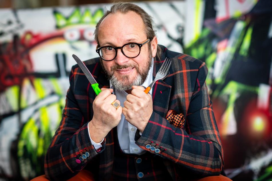 Tasso alias Jens Müller (54) würde gern mal wieder in einem Restaurant speisen.