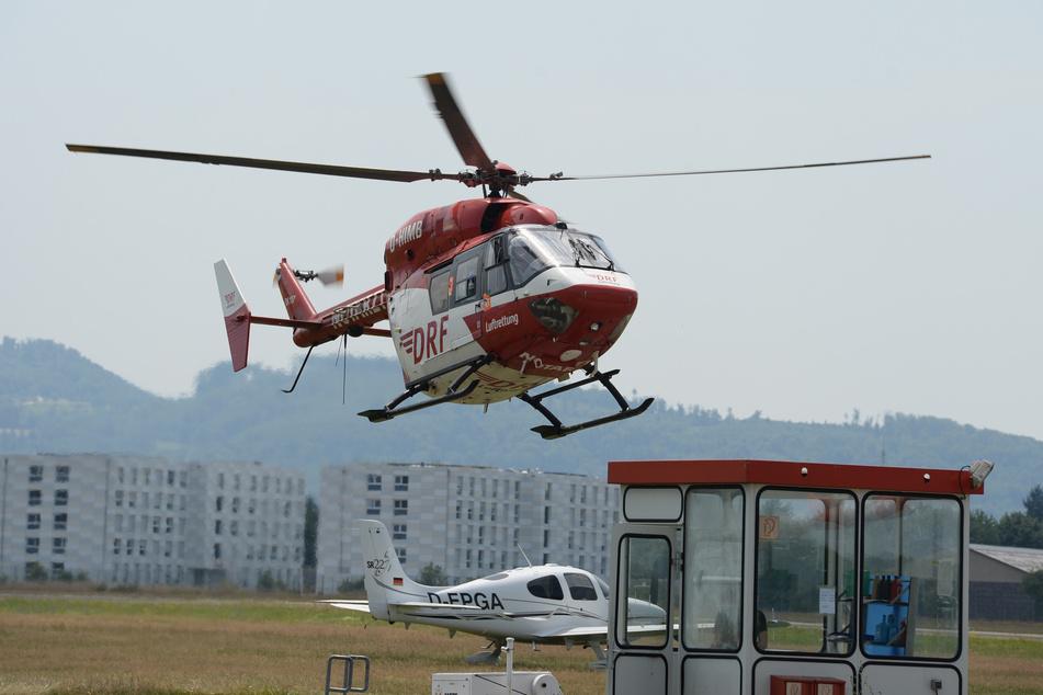 Das Kind kam mit dem Rettungshubschrauber ins Krankenhaus. (Symbolbild)