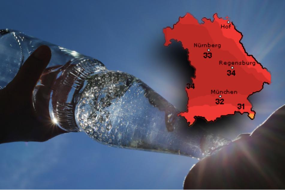 Thermometer klettert nach oben: So wird das Wetter zum Wochenende in Bayern