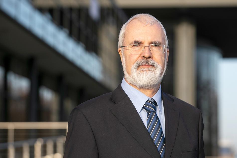 Sachsens oberster Datenschützer Andreas Schurig (63).