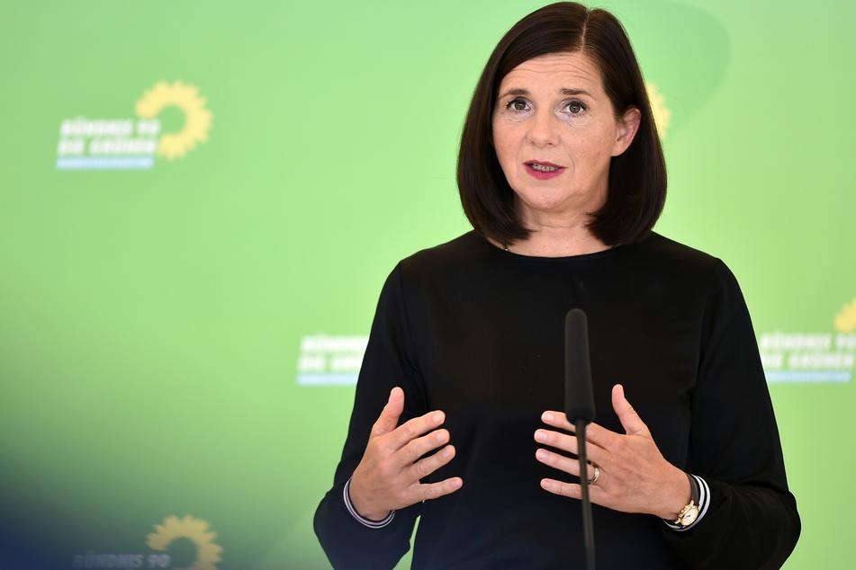 Katrin Göring-Eckardt, die Fraktionsvorsitzende von Bündnis 90/Die Grünen, fordert klare Corona-Regeln und zwar bundesweit.