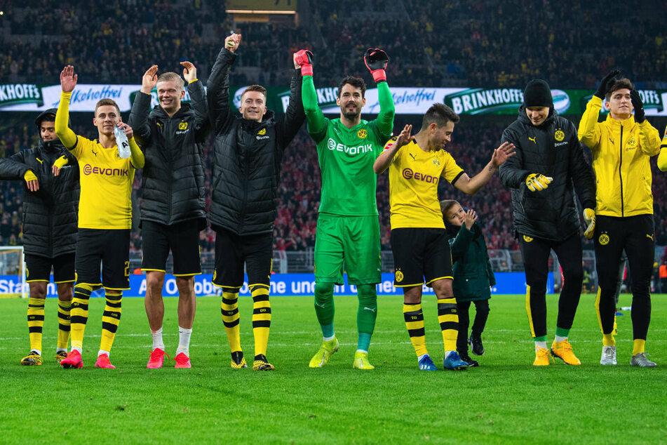 Im Februar 2020 konnten sich die Dortmunder über einen 5:0-Heimsieg gegen Union Berlin freuen - damals noch vor Zuschauern.