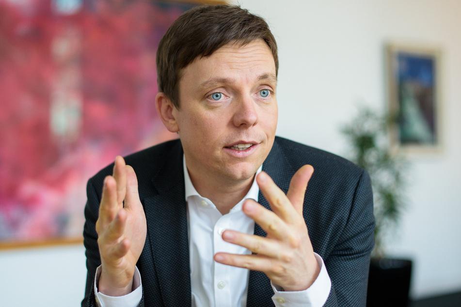 Tobias Hans (CDU) ist der Ministerpräsident des Saarlandes.