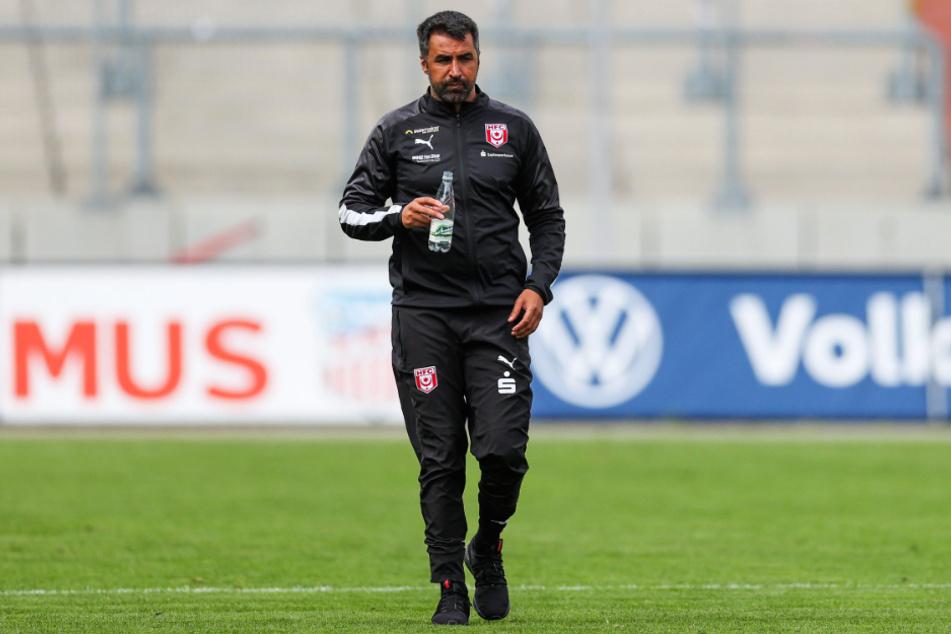 Coach Ismail Atalan hat mit dem HFC seit seinem Amtsantritt nur einen Punkt aus fünf Spielen geholt.