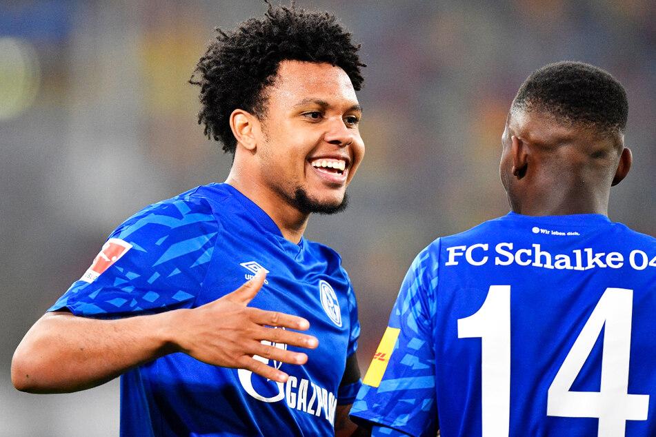 Weston McKennie (22, l.) spielte von 2016 bis 2020 beim FC Schalke 04 und kam in dieser Zeit auf 91 Einsätze (fünf Tore, sieben Vorlagen) für die Profis.