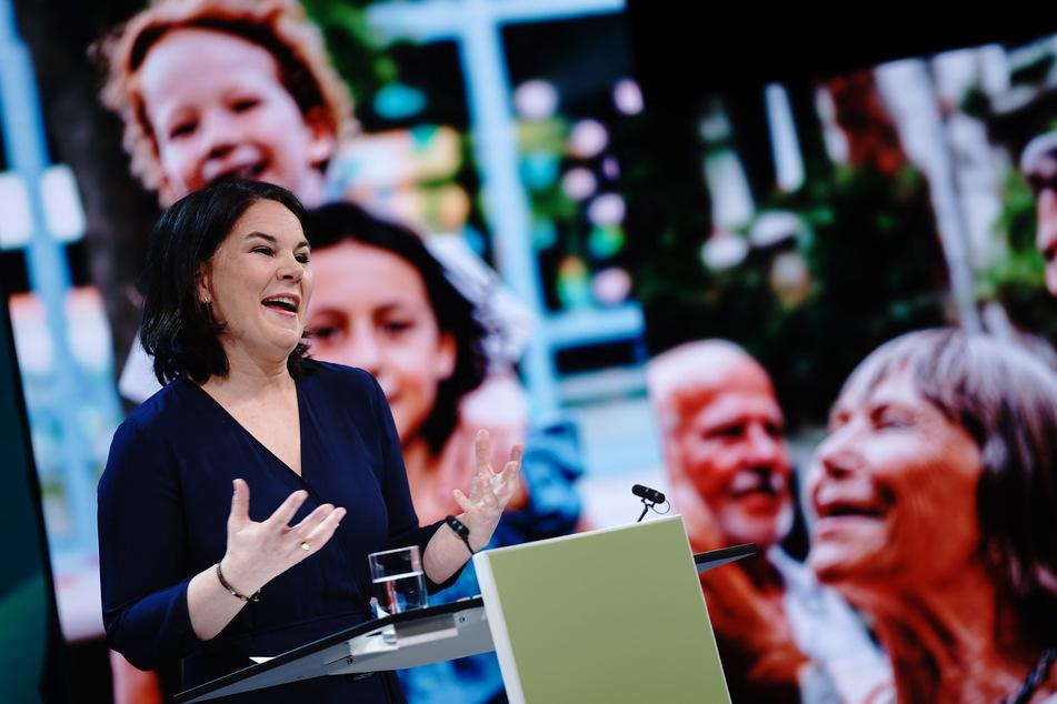 Die nächste Kanzlerin? Die Grünen-Vorsitzende Annalena Baerbock (40).