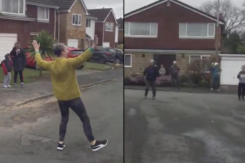 Trotz Corona-Krise tanzen diese Menschen auf der Straße: Das ist der Grund