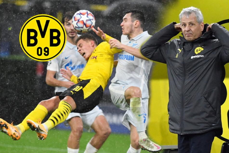 """BVB glanzlos gegen Zenit: Favre leidet, Zorc sieht """"Druck auf Kessel"""""""