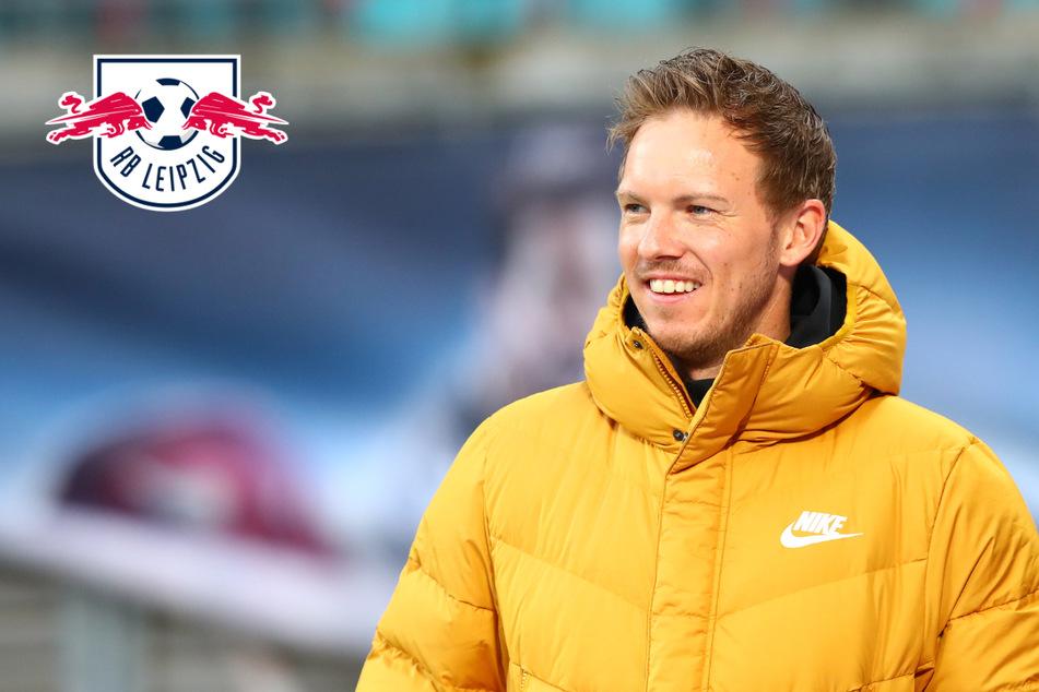 """RB-Trainer Nagelsmann sorgt für Lacher: """"... mache morgen mit Lena Gercke Schluss..."""""""
