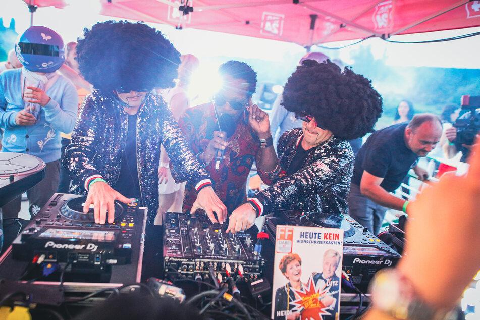 Die Dresdner DJs Disco Dice.