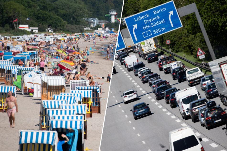 Lange Staus und volle Strände: Polizei warnt vor Ostsee-Trip!