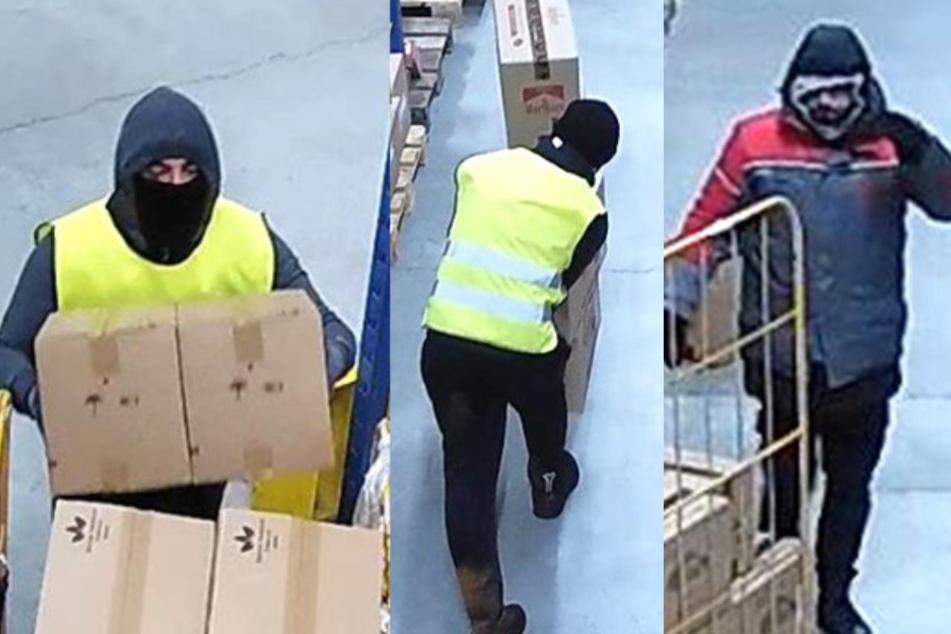 Die Polizei veröffentlichte Fotos aus der Überwachungskamera.