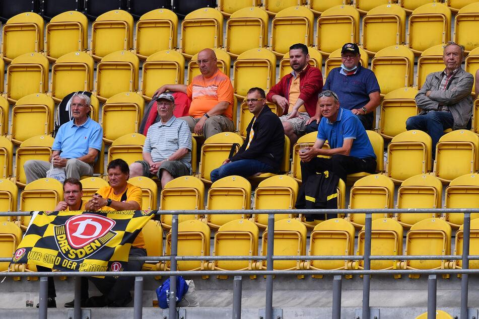 Zuschauer waren beim Spiel wieder zugelassen.