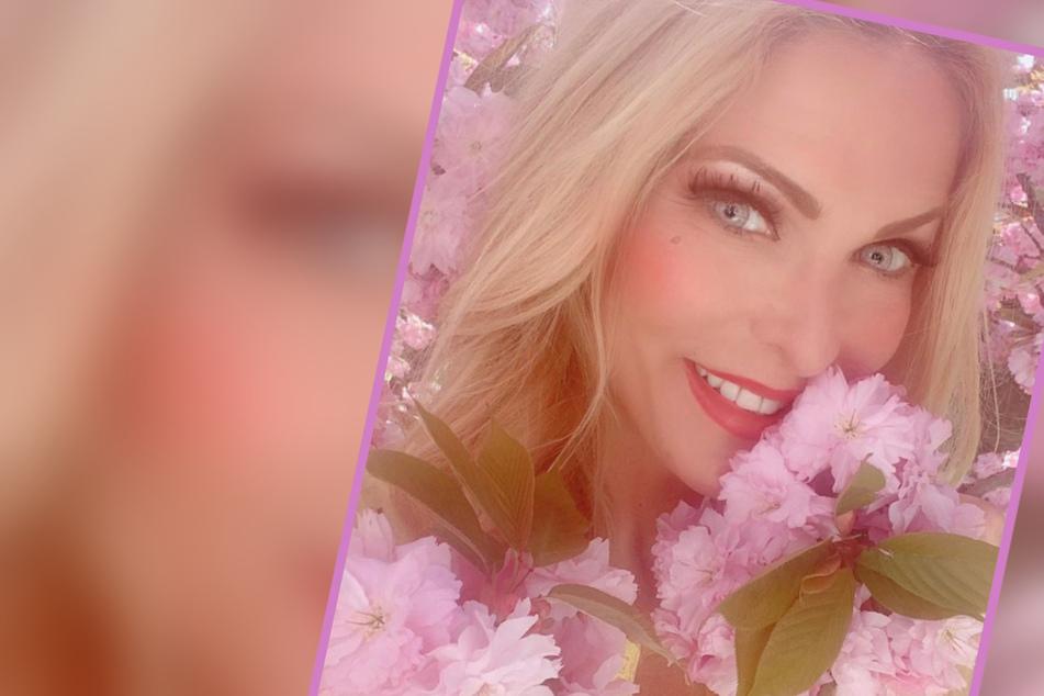Traum in Pink: Unglaublich, wo Sonya Kraus dieses Foto geschossen hat