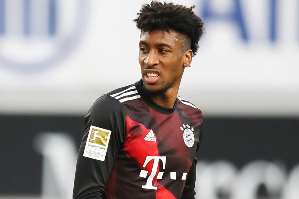 Die Vertragsverhandlungen gestalten sich schwierig: Kingsley Coman (25) fordert vom FC Bayern München deutlich mehr Gehalt.