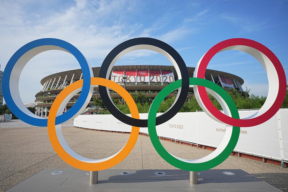 Das Olympiastadion in Tokio. Um 13 Uhr deutscher Zeit am 23. Juli startet die Eröffnungsfeier.