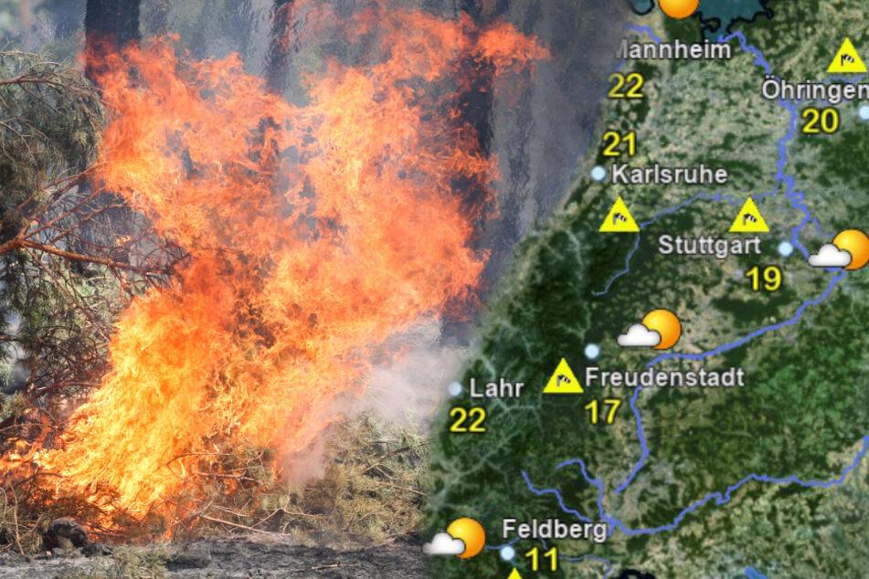 Achtung, Waldbrandgefahr! Schönes Wetter birgt Risiken