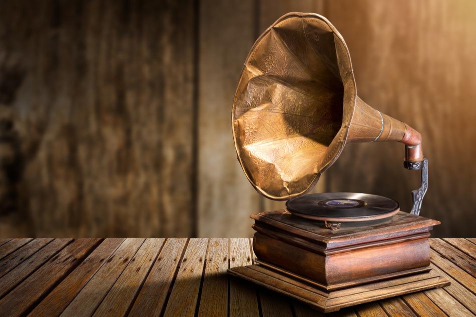 Im Robert-Schumann-Haus könnt Ihr eine Grammophon-Vorführung erleben.
