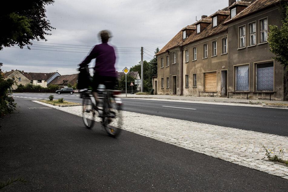 Bevölkerungsschwund: Auch auf Sachsens Straßen dürfte es leerer werden.