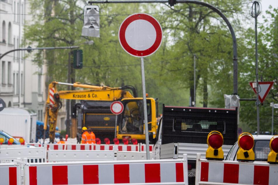 Chemnitz: Hier wird es in Chemnitz eng: Diese neuen Vollsperrungen gibt es ab Montag