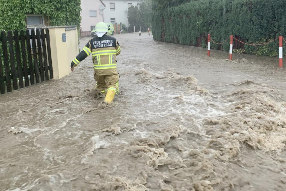 Land unter! So wüteten die Unwetter in und um Leipzig