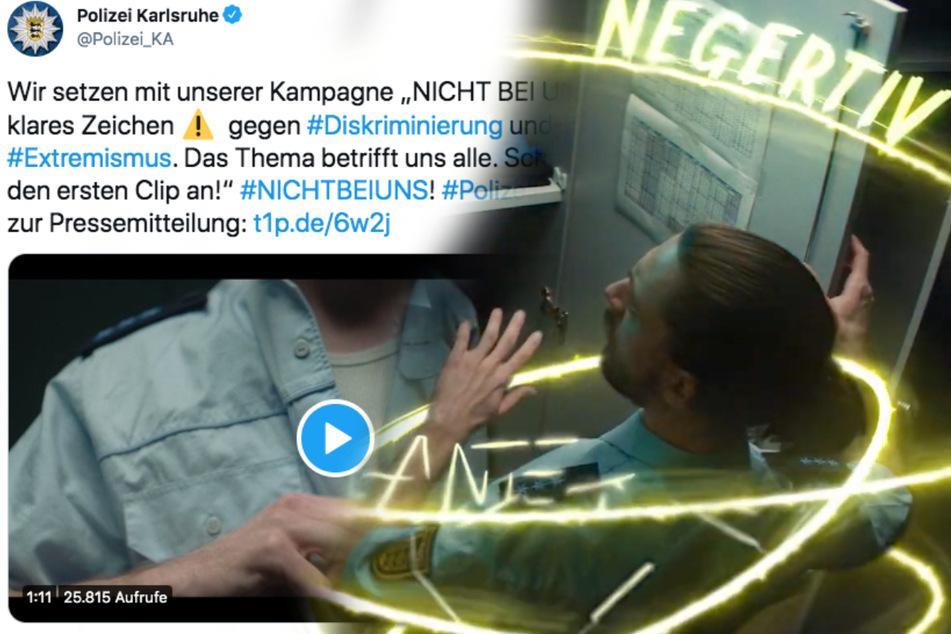 """""""Negertiv"""": Clip gegen Rassismus bei der Polizei sorgt für Shitstorm"""