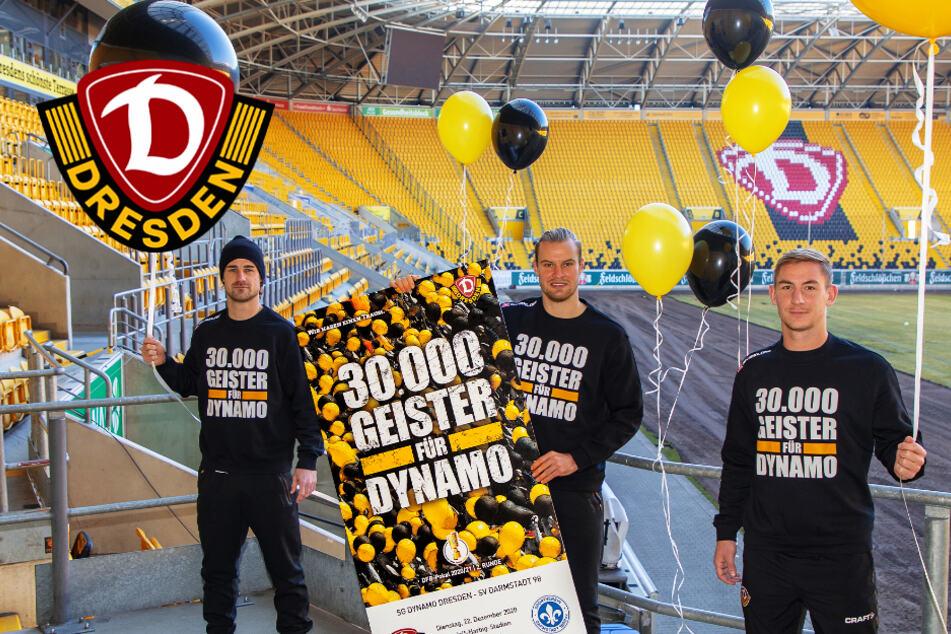 """""""30.000 Geister für Dynamo"""": SGD verkauft Tickets fürs Pokalspiel!"""