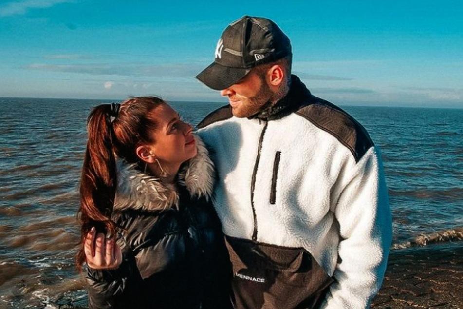 """Jenny Frankhauser (28) erzählt in einer """"Lovestory"""" auf Instagram, wie sie mit ihrem Freund Steffen zusammengekommen ist."""