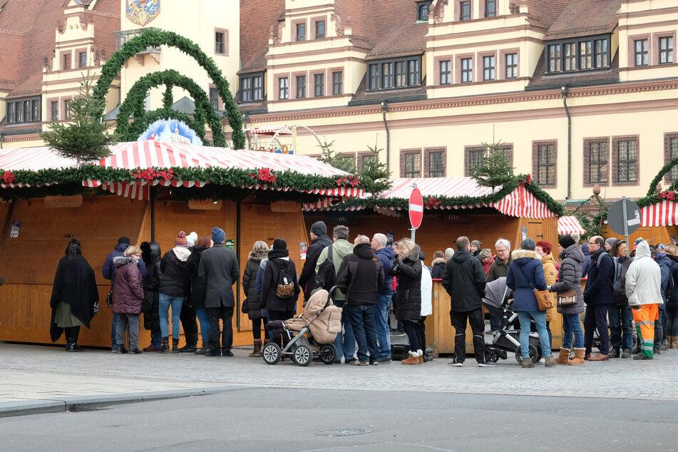 Sachsens Weihnachtsmärkte planen unter Corona-Bedingungen zu öffnen.