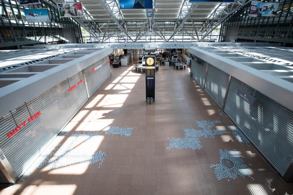 Coronavirus lässt Hamburger Flughafen verwaisen