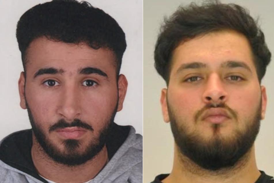 Die Polizei fahndet noch nach den Zwillingen Abdul Majed Remmo (21, l.) und Mohamed Remmo (21)