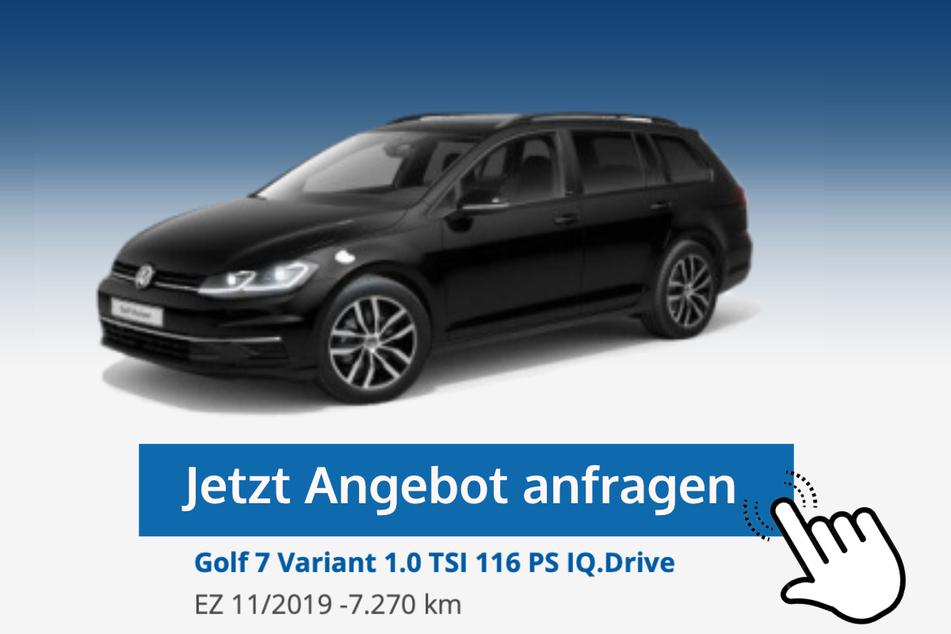 Golf 7 Variant (1.0 TSI, 116 PS IQ.Drive) für 19.970 Euro bzw. 199 Euro/Monat*