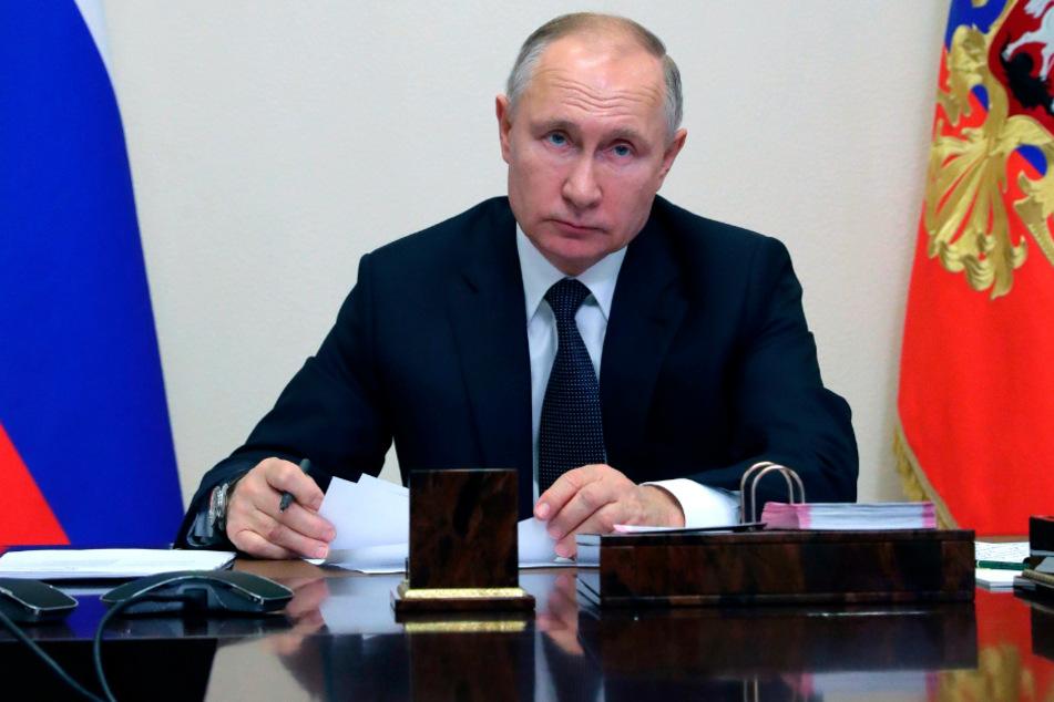 Kremlchef Wladimir Putin (68).