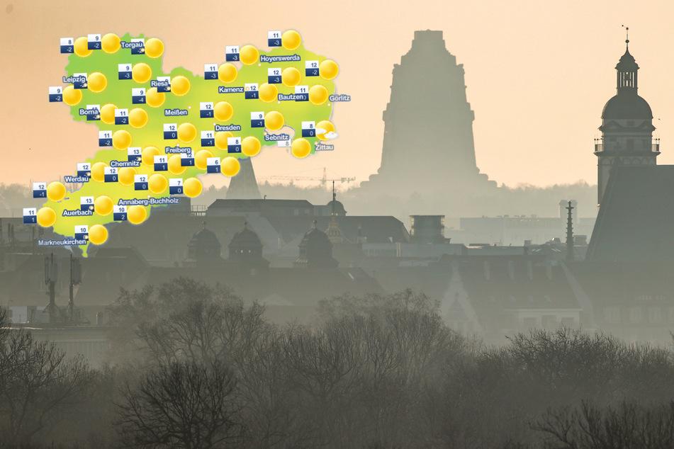 Wetter zum Wochenbeginn: In Sachsen scheint die Sonne, wenn...