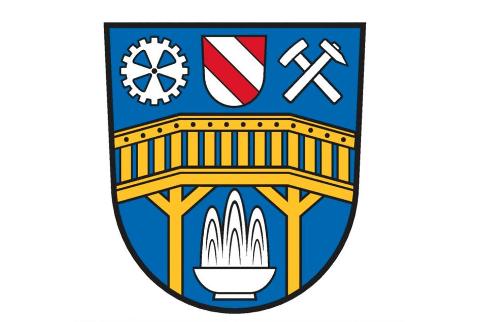 Das neue Wappen der Stadt Aue-Bad Schlema stößt im Netz auf heftige Kritik.