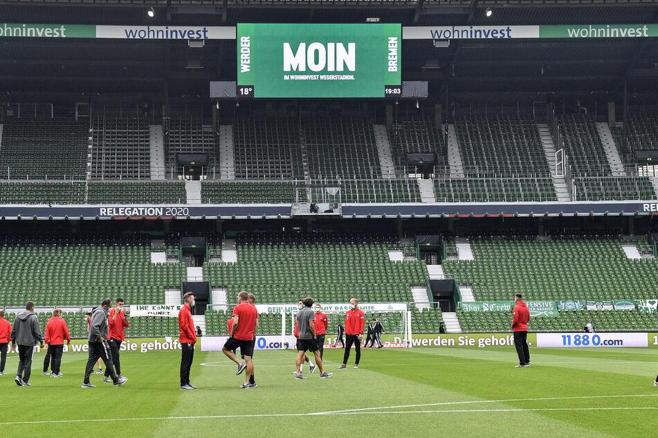 Auf den Rängen im Wohninvest Weserstadion dürfen erstmals wieder Gäste Platz nehmen.
